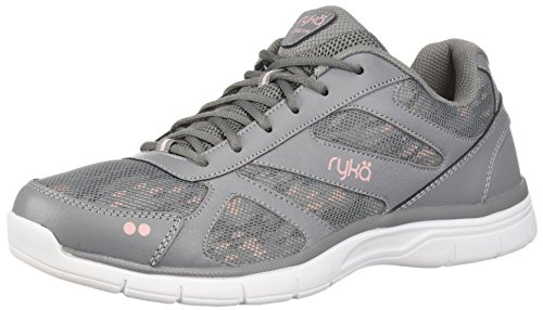 Ryka Women's Dream Cross Trainer, Grey/Rose, 7.5 M US For Sale
