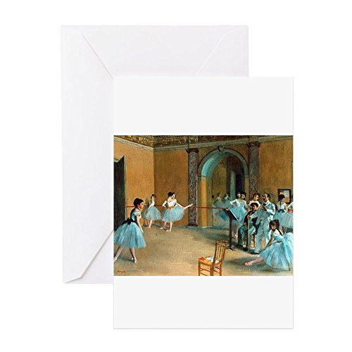 CafePress - Degas - Greeting Card (20-pack), Note Card with Blank Inside, Birthday Card Matte
