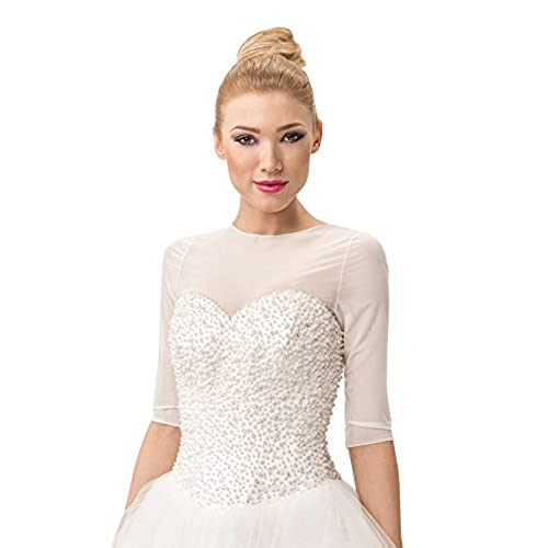 White Wedding Dress Under 500: Wedding Dress Topper: Amazon.com
