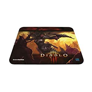 SteelSeries QcK Diablo III Gaming Mouse Pad - Demon Hunter Edition