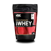 Optimum Nutrition Gold Standard 100% Whey, Strawberry, 1 Pound