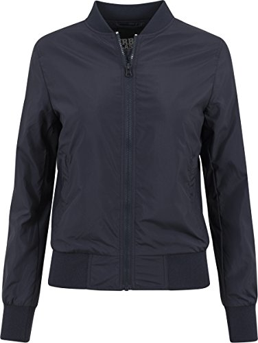 Urban Classics - Ladies Light Bomber Jacket - Blouson Femme Bleu Marine