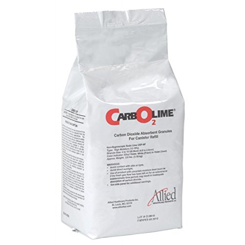 - CarbOLime Carbon Dioxide Absorbent Granules For Canister Refill, 3 lb Bag