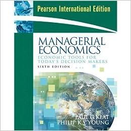 Managerial economics & organizational architecture, 6th edition.