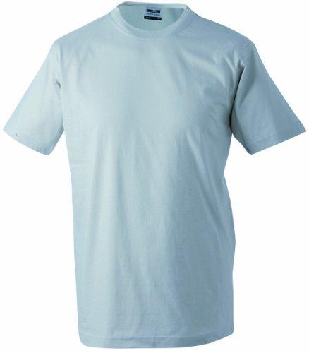 corta redondo Cuello manga Hombre Talla Gris 5xl Round Camiseta de Single claro t heavy Camiseta S Estampado jersey qEPvBx