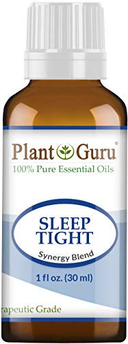 (Sleep Tight Essential Oil Blend 1 oz / 30 ml 100% Pure Undiluted Therapeutic Grade. Good Night Aid, Relaxation, Depression, Stress, Anxiety Relief, Mood, Uplifting, Calming, Aromatherapy)