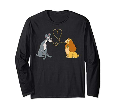 Disney Lady and The Tramp Bella Notte Long Sleeve T-Shirt ()