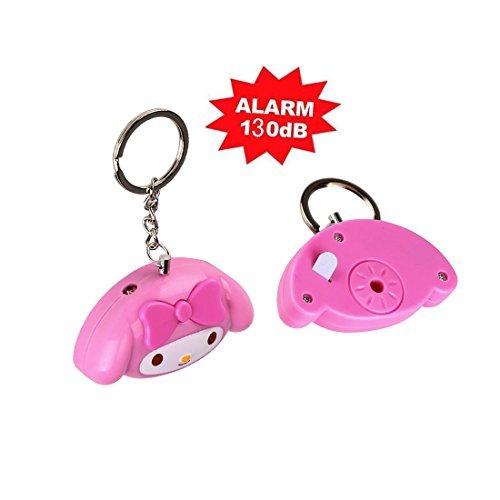 Buyker Personal Alarm 130db Loud Cute Emergency Alarm Self Defense Keychain with Keyring for Kids, Girls, Women