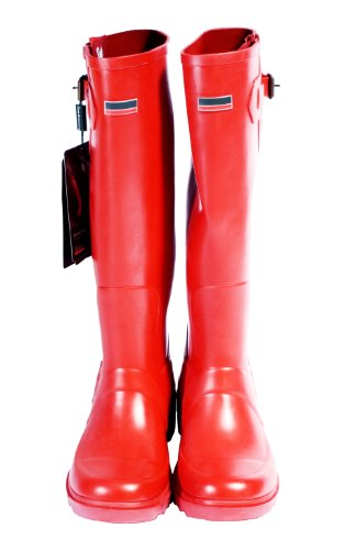 Premium Wellington Boots Red