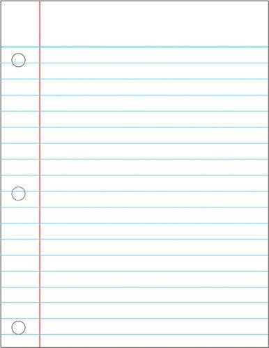 - Carson Dellosa Notebook Paper Chart (114089)