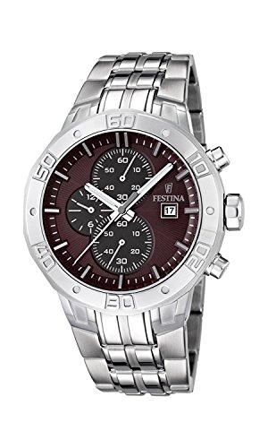 FESTINA watch men's chronograph breath F16666 / 2 Men's [regular imported goods]