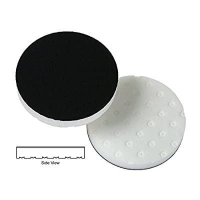 White Polishing CCS Smart Pads DA 5.5 inch Foam Pad -3 pack: Automotive