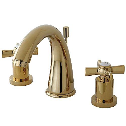 Elegant Brass Widespread Faucet - 1
