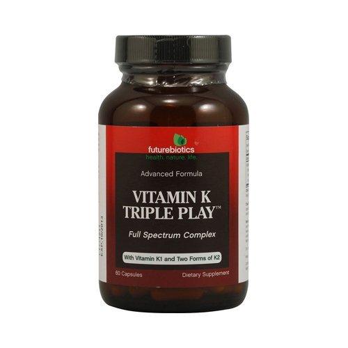 Futurebiotics Vitamin K Triple Play 60 Cap