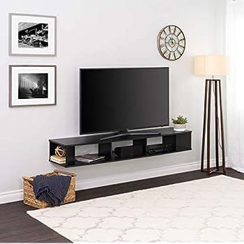 Tremendous Amazon Com City Life Wall Mounted Media Console 66 Wide Machost Co Dining Chair Design Ideas Machostcouk