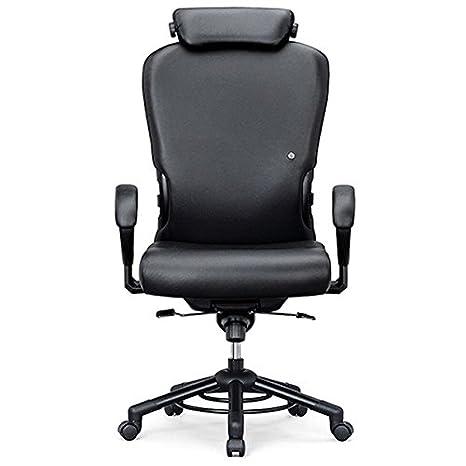 Inter silla XXXL drehsessel o665 para personas de hasta 200 kg, con reposacabezas - pg3 - Plástico Fame: Amazon.es: Oficina y papelería