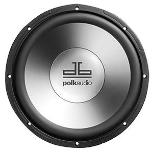 Polk Audio db1040 10-Inch Single Voice Coil Subwoofer (Single, Black)