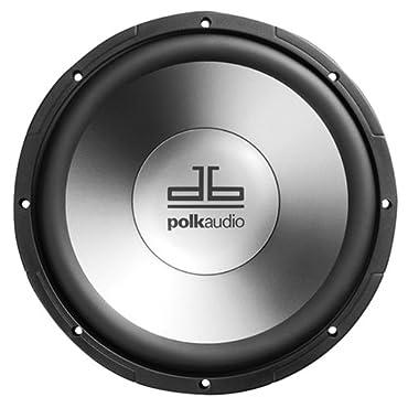 Polk Audio db1040 10 Single Voice Coil Subwoofer (Single, Black)