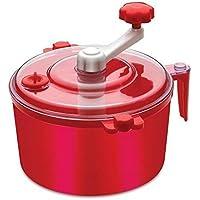 Gatih Plastic Automatic Dough/Atta Roti Maker for Home(Multicolour) (Red)