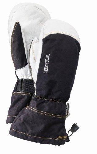 Hestra Xcr Mitt Glove (Black, 8)