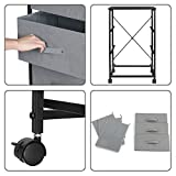 3 Drawer Dresser, KINGSO Fabric Dresser Storage