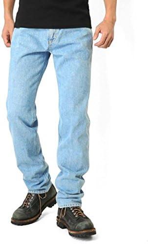 AMERICAN STANDRD 201 ストレートデニムジーンズ 淡色ブルー(190)