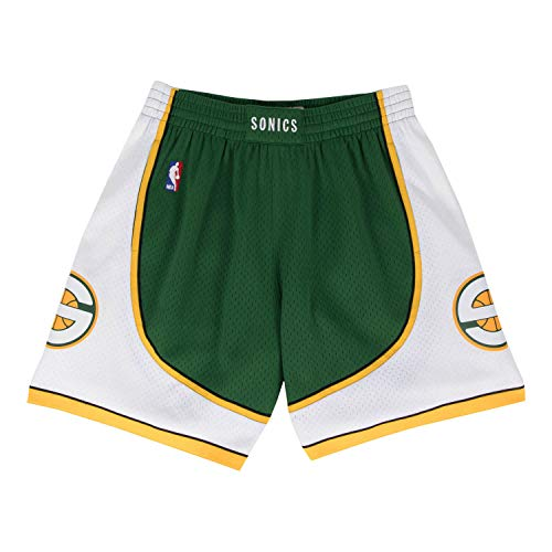 (Mitchell & Ness Seattle Supersonics Green Swingman Shorts (Large))