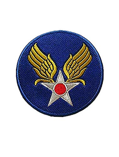 US AAC Army Air Corps WW2 Hand Military Hook Loop Tactics Morale Embroidered Patch - Army Wwii Patches