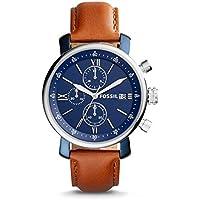 Fossil BQ2163 Rhett Chronograph Brown Leather Men's Watch