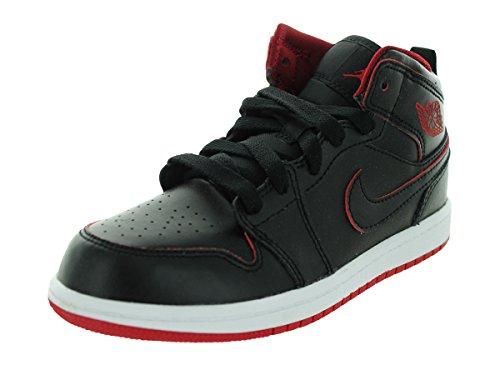 Lacoste Herren Giron HTB Sneaker, Schwarz / Dunkelgrau, 10 D Schwarz / Weiß / Gym Rot / Schwarz