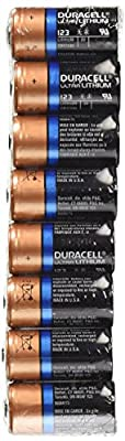 Duracell DL123 Ultra 3 Volt Lithium 123 Battery from Duracell