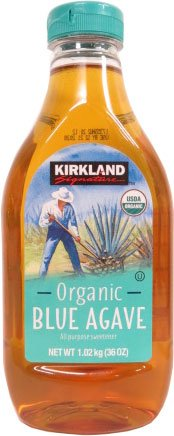 Kirkland Signature Organic Blue Agave 36 oz two bottles