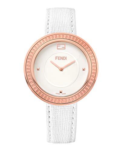 Fendi Women's F350534041 My Way Analog Display Quartz White Watch (Handbag White Fendi)