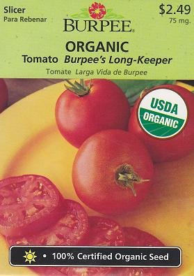 - Burpee Tomato Burpee's Long-Keeper 67576 25 Organic Seeds