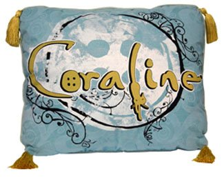 Coraline Throw Pillow ''Vines''