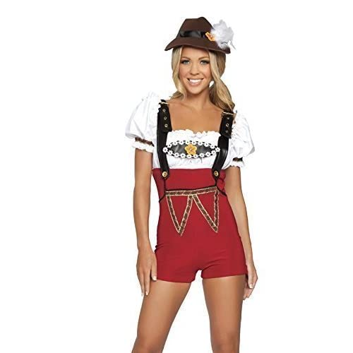 The Good Life Ladies Quality Octoberfest/Oktoberfest German Beer Festival Wench Costume Size 8