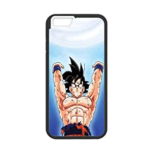 iPhone 6 Plus 5.5 Inch Cell Phone Case Black Dragon Ball Z Son Goku T6J9YE