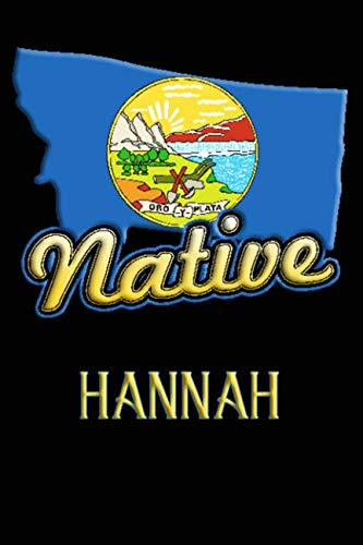 Montana Native Hannah: College Ruled | Composition Book