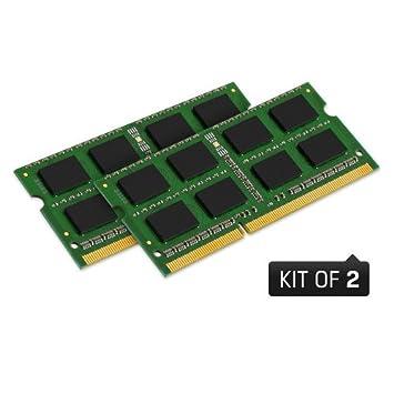 Kingston - Memoria RAM para ordenador portátil Dell XPS L502X, 16 GB (2 módulos de 8 GB): Amazon.es: Informática