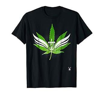 Amazon.com: Camiseta con diseño de hoja de palo de golf ...