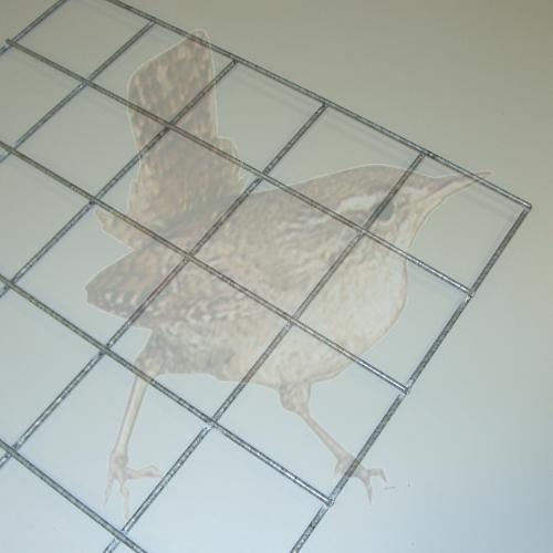 Gabionengitter geschweißt 100/100/3,5, Gittergröße 1000 x 500 MM