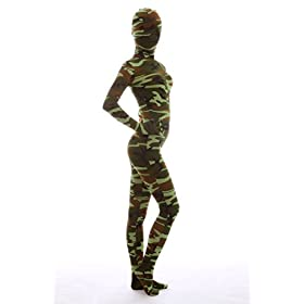 - 411ok 2BTHBnL - Nedal Women's Camouflage Zentai Lycra Bodysuit Spandex Halloween Onesie