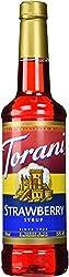 Torani Syrup, Strawberry, 12.7 Ounce