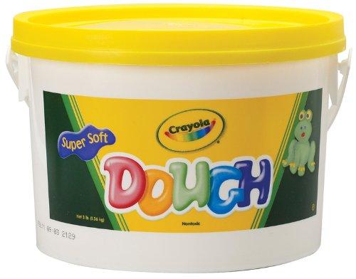 Dough Bucket 3 Pounds-Yellow 1 pcs sku# 786355MA by Punch Bunch