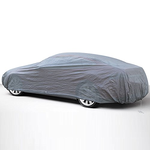 1973 Corvette Coupe - OxGord Economy Car Cover - 1 Layer Dust Cover - Lowest Price - Ready-Fit / Semi Glove Fit - Fits up to 204 Inches