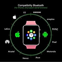 Amazon.com: Smart Watch - MyTECH Touch Screen Bluetooth ...