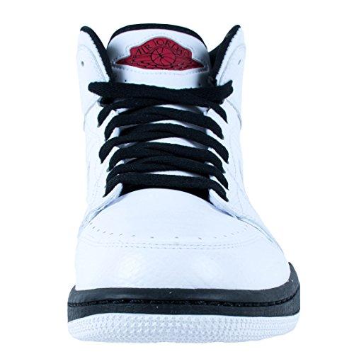 Nike Heren Air Jordan 1 Retro 86 Lederen Basketbalschoenen Wit