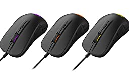 SteelSeries Rival 300, Optical Gaming Mouse - Black