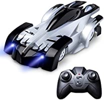Wall Climbing Remote Control Car - Gravity Defying RC Cars for Adults, Kids, Boys or Girls, Wall Climbing Car Toys w/ USB Fast RC Car Charger