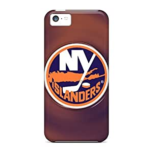 Protective Tpu Case With Fashion Design For Iphone 5c (new York Islanders)
